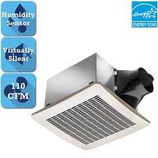 details about delta breez signature 110 cfm ceiling humidity sensing bathroom exhaust fan