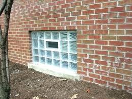 glass block windows cost glass block basement windows glass block basement windows cost basement glass blocks