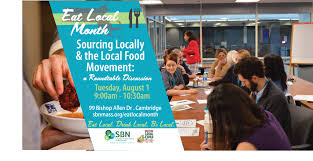 join sbn and leaders in the local food movement for a roundtable discussion on best practices and challenges of sourcing locally local food luminaries will