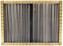 fireplace curtain screens curtain screens casting fireplace screen curtain fireplace curtain
