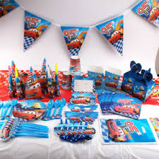 Lightning Mcqueen Birthday Party Details About Lightning Mcqueen Cars Theme Kid Birthday Party Supplies Tableware Decor Plates