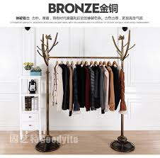 2018 tree modeling wrought iron clothes rack clothing