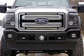 ford 30 inch cree led grille kit 11 16 super duty