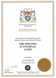 Дистанционное обучение внутреннему аудиту сертификацией dipia Диплом dipia