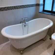 bathtub refinishing reviews single slipper clawfoot tub antique claw foot s with jets shower curtain pedestal