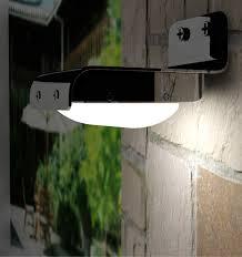 modern outdoor sensor wall lights. waterproof wireless outdoor garden battery operated led solar pir motion sensor security light modern wall lights b