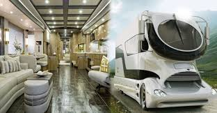 Most expensive rvs in the world Luxurious Motorhome The Average Motorhome Owner Is Snowbird Who Makes The Annual Trek From One Part Of The Country To Another To Avoid Temperature Extremes And Live In Money Inc This Is The Most Expensive Motorhome In The World