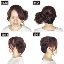ボブヘアでも綺麗にまとまるアップスタイル成人式の髪型ヘア
