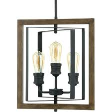 palermo grove 14 in 3 light gilded iron pendant