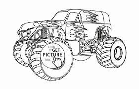 Semi Truck Coloring Pages Free Fresh 16 Elegant Monster Truck