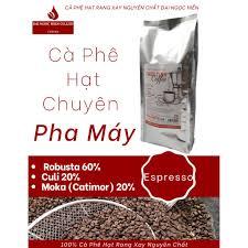 Cà Phê Hạt Chuyên Pha Máy - 1kg Thức Tỉnh Coffee 140 - Cà Phê Hạt Rang Xay  Nguyên Chất Đại Ngọc Hiền.