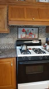 Tile Murals For Kitchen Decorative Tile Backsplash Kitchen Tile Ideas Moms Apple Pie