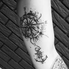 Tattoo Uploaded By Oleksandr Tattooist тату розаветров якорь