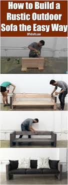 Diy Outdoor Furniture Best 25 Outdoor Furniture Ideas On Pinterest Diy Outdoor