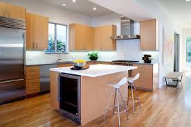 View in gallery Small kitchen island idea for tiny kitchens
