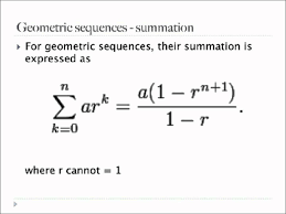 eecs 203 discrete mathematics geometric sequence and its sum you