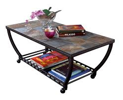 Iron And Stone Coffee Table Stone Coffee Table Set Modern Tv Stand And Coffee Table Set Lizz