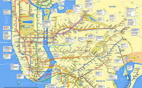 mta subway map gets a makeover it's all about manhattan  nbc new