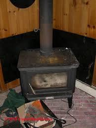 wood stove showing manual flue damper c daniel friedman