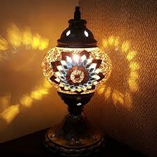Turkish style lighting Wall Lights Turkish Moroccan Tiffany Style Glass Desk Table Lamp 29cm Consulteth Turkish Moroccan Tiffany Style Glass Desk Table Lamp 29cm