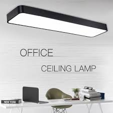 Square Office Lights Us 27 6 8 Off New Modern Led Ceiling Lights Aluminium Acrylic Shade For Living Room Home Office Ceiling Lamp Square Simple Lamp Ac220v In Ceiling
