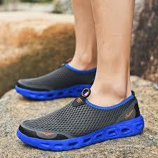 2021 <b>Men's Air Mesh</b> Lightweight Breathable Water Summer <b>Sandals</b>