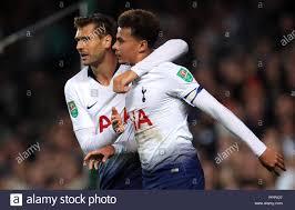 Tottenham Hotspur's Dele Alli celebrates scoring his side's first ...