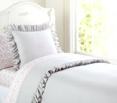 cool white ruffle duvet cover twin ruffle duvet cover twin xl