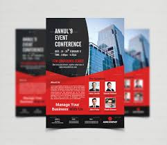 conference handout template best templates conference brochure template