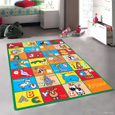 colorful rugs. Colorful Area Rugs Learn Alphabet Letters With Animals Bright Vibrant Colors Kids Baby Room .