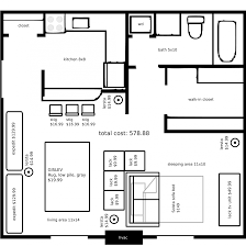 Surprising Studio Apartment Floor Plans Furniture Layout - Loft apartment floor plans