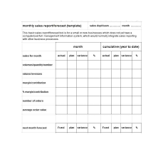 Sales Monthly Report 45 Sales Report Templates Daily Weekly Monthly Salesman Reports