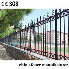 china fencing cast iron fence