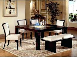 area rug under dining table dimensions