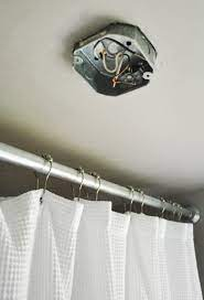 how to move a ceiling light to center