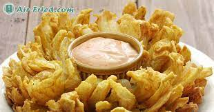 air fryer blooming onion recipes