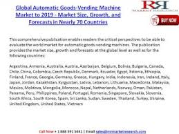 Vending Machine Research Paper Mesmerizing Global Automatic Goods Vending Machine Market Research Report 48