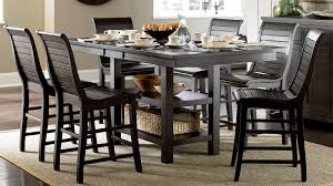 Distressed Black Kitchen Table Dining Room Furniture My Rooms Furniture Gallery