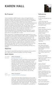 Office Assistant Resume Samples Visualcv Resume Samples Database