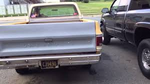 1978 chevy pickup dual exhaust - YouTube