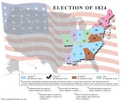 United States presidential election of 1824   United States government
