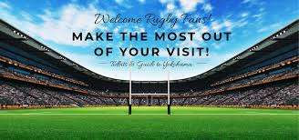Welcome Rugby Fans Yokohama Official Visitors Guide