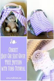 Crochet Car Seat Cover Pattern