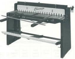 sheet metal cutter machine. foot operated sheet metal sheer machine cutter