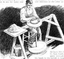 pottery kick wheel plans. build simple potters kick wheel article with plans throw pottery crafts #199 y