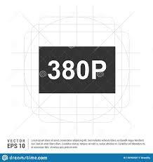 Web Design Resolution Video Resolution Icon Stock Vector Illustration Of Smart