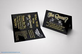 Tri Fold Business Card Template Word Tri Fold Business Card Template Word Beautiful Fold Over Business