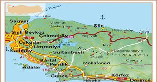 anadolu yakası haritası ile ilgili görsel sonucu