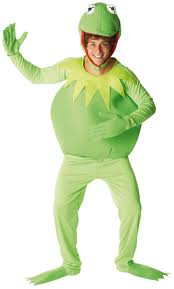 sentinel kermit frog mens fancy dress the muppets disney tv s costume outfit