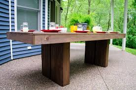 modern metal patio furniture. Beautiful Patio Modern Outdoor Patio Table That Is Easy To Build This Could Easily  Work With Benches Or Chairs For More Information And TONS Photos Go  And Metal Patio Furniture R